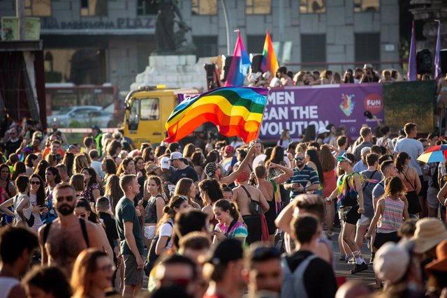 Celebració del Pride a Barcelona