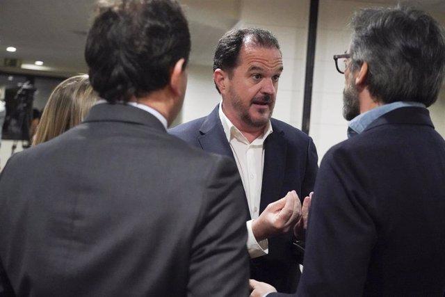 El candidato de PP+Cs a lehendakari, Carlos Iturgaiz.