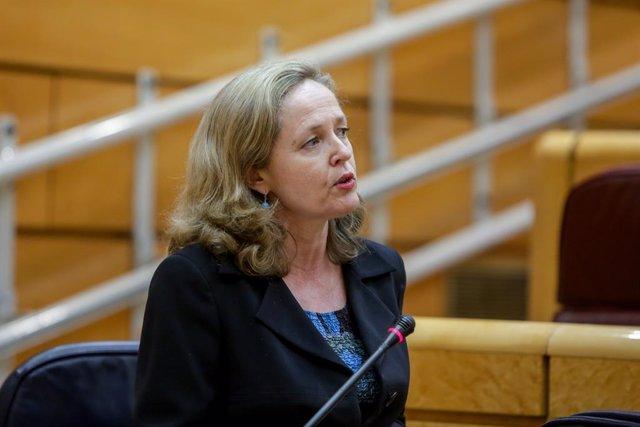 """UE.- Calviño es la favorita y candidata """"ideal"""" para presidir el Eurogrupo, segú"""