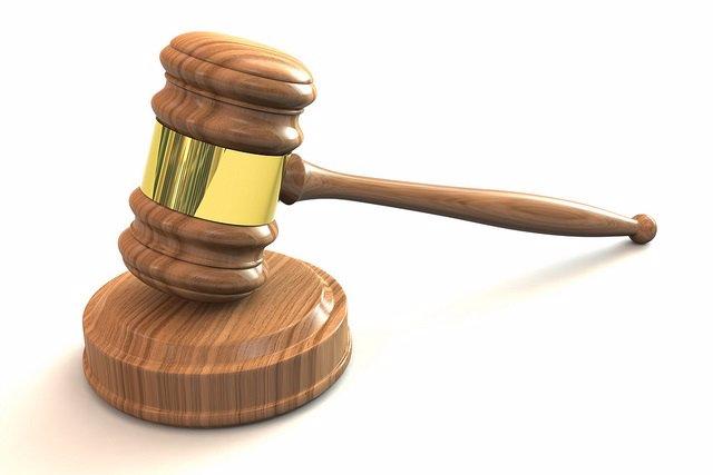 Mazo de juez en un juicio