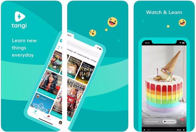 Tangi, la nueva red social de Google que mezcla vídeos cortos como TikTok y tuto