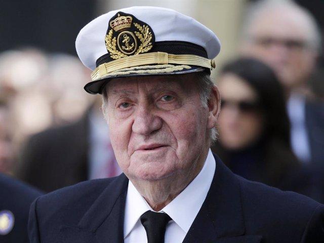 El rei emèrit, Jaan Carles I.