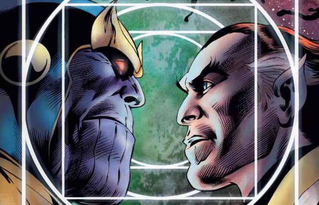 Thanos y su hermano, Starfox