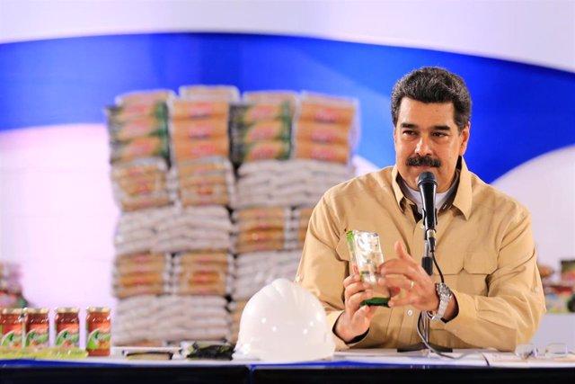 El presidente venezolano, Nicolás Maduro (Imagen de archivo)