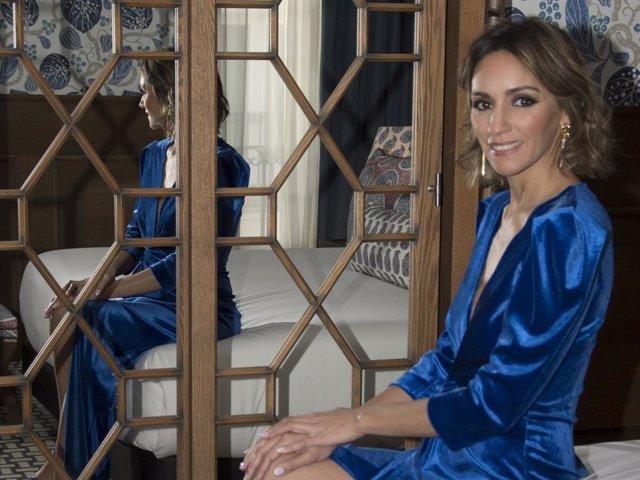 Beatriz Tajuelo, feliz y serena, en una imagen reciente