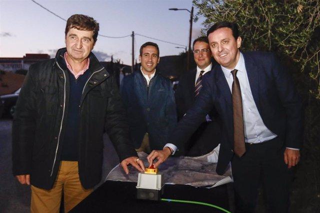 SaboresAlmería.- Oria ahorrará el 60% de la factura del alumbrado público gracias a inversiones de Diputación