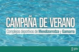 Las piscinas de Mendizorrotza y Gamarra iniciarán la campaña de verano el próximo 1 de julio con turnos y reserva previa