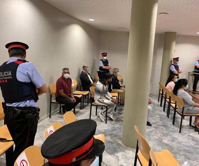La Audiencia Provincial De Lleida Ha Celebrado Este Martes El Primer Juicio Desde La Declaración Del Estado De Alarma.