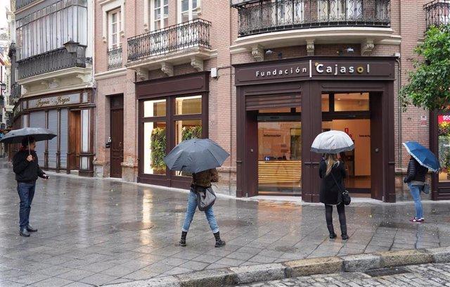 Sede de la Fundación Cajasol en Sevilla, foto de archivo