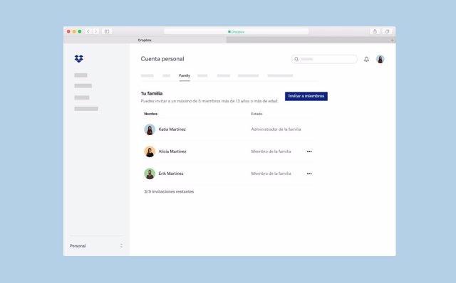 Dropbox lanza nuevas herramientas para mejorar las gestiones familiares y profes