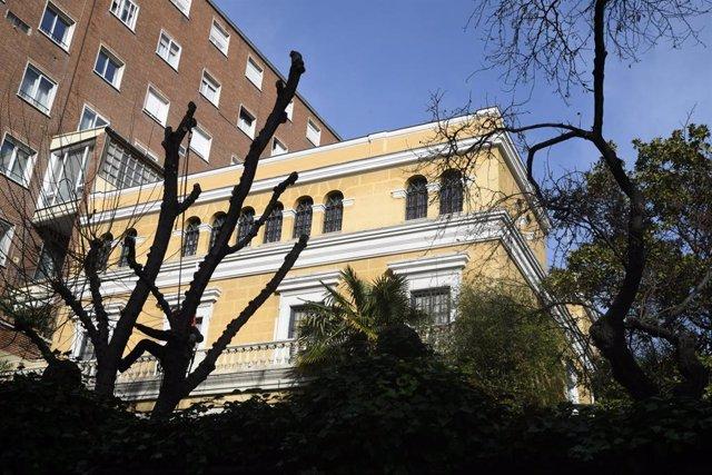 Museo Sorolla ubicado en un palacete del Paseo del General Martínez Campos, en Madrid (España), a 3 de febrero de 2020.