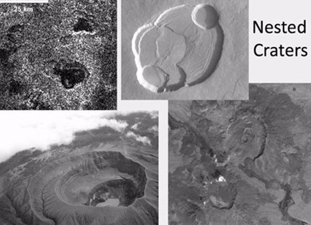 Pruebas de erupciones explosivas actuales en la luna Titán de Saturno