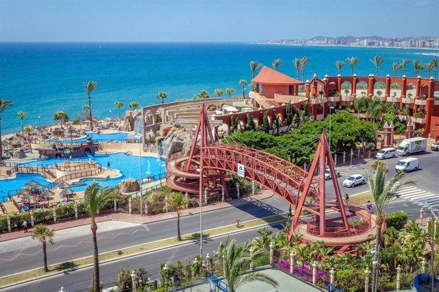 Holiday World abre este verano su club de playa a todo el público, incluyendo a los no alojados