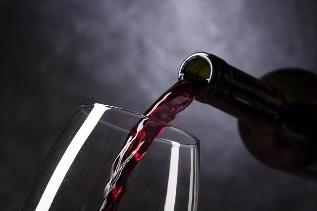 Vino. Copa de vino