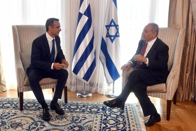 Grecia/Israel.- Grecia e Israel se comprometen a reactivar el turismo y abordan