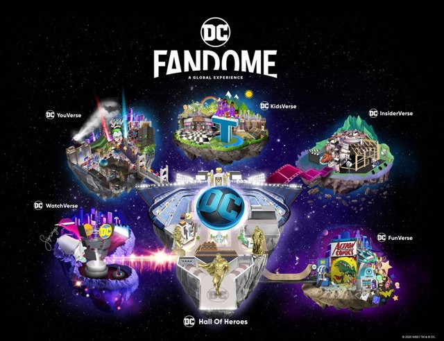 Imagen promocional de DC FanDome