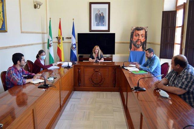 Reunión de la junta de portavoces del Ayuntamiento sanjuanero.