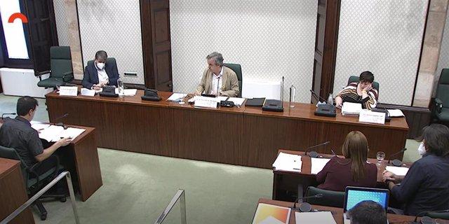Comisión de investigación de la aplicación del artículo 155 de la Constitución en Catalunya.