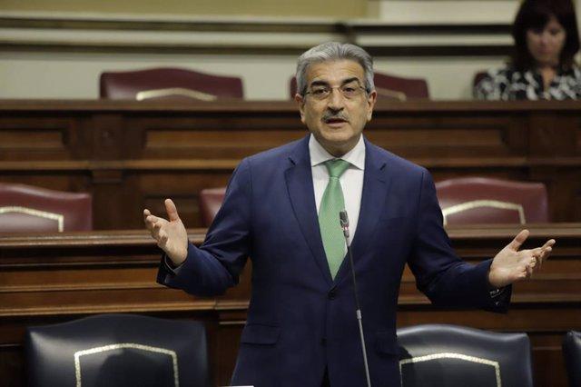 Román Rodríguez, vicepresidente de Canarias y consejero de Hacienda