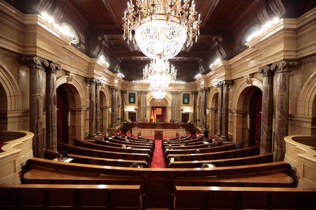 Ple del Parlament del 3 de juny.