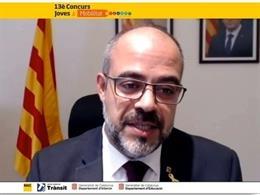 El conseller de Interior de la Generalitat, Miquel Buch, participa en la entrega de premios del RACC