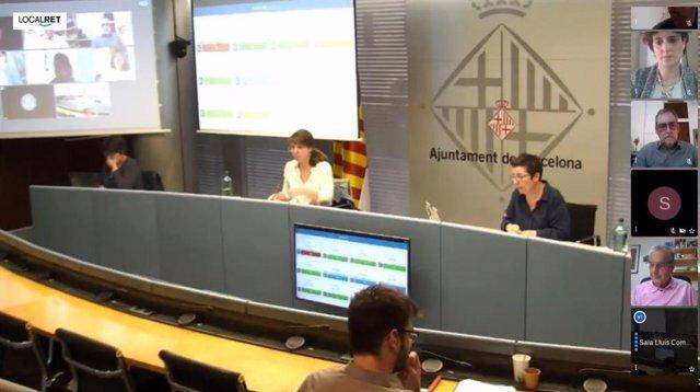 La Comisión de Ecologia, Urbanismo y Movilidad del Ayuntamiento de Barcelona