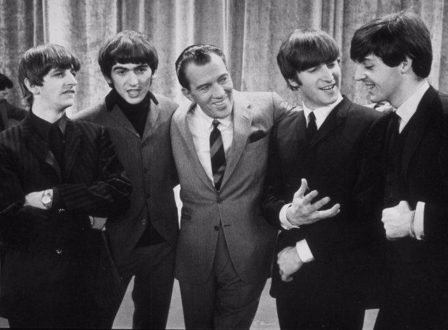 The Beatles con Ed Sullivan en 1964