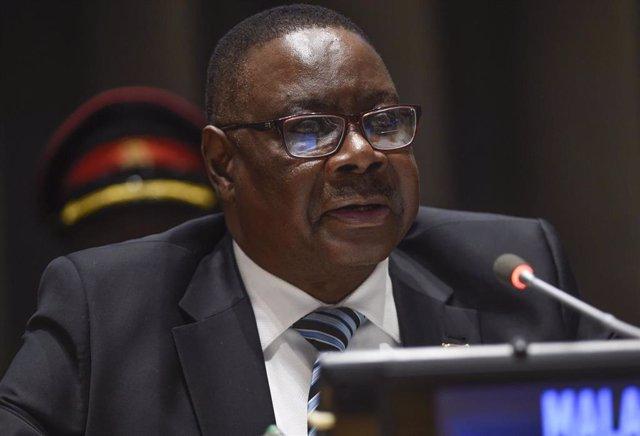 El presidente de Malaui, Peter Mutharika