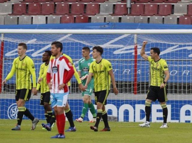 Fútbol/Segunda.- (Crónica) El Zaragoza vence en Lugo y mete presión al Cádiz des