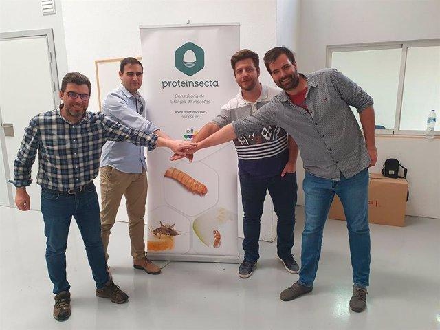 Celebración nueva delegación de Proteinsecta Catalunya