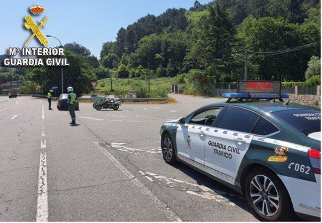 Investigado un conductor que cuadriplicó la tasa de alcohol tras ser detectado a 104 km/h en un tramo de 50 en Tui (Pontevedra).