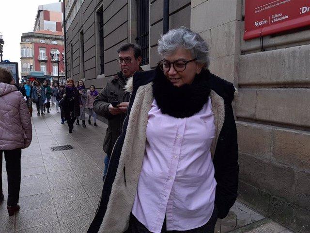 Ana González, alcaldesa de Gijón