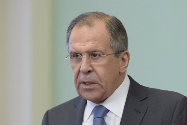 Sergei Lavrov, ministre d'Afers Exteriors de Rússia