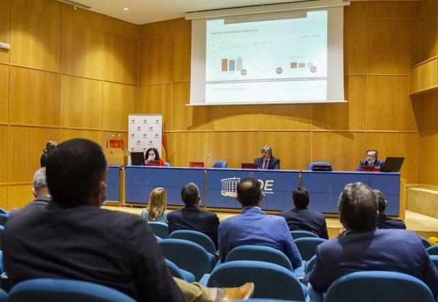 Acto de presentación de la declaración medioambiental de Cepsa.