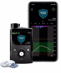 Medtronic lanza un nuevo sistema para simplificar el control de la diabetes tipo 1