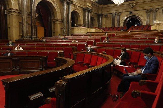 Ple del Parlament del 17 de juny.