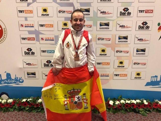 El taekwondista español Álex Vidal