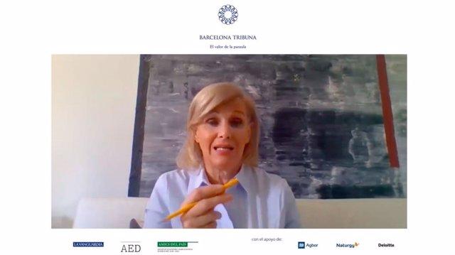 La directora de Medi ambient, Canvi Climàtic i Salut de l'Organització Mundial de la Salut, María Neira
