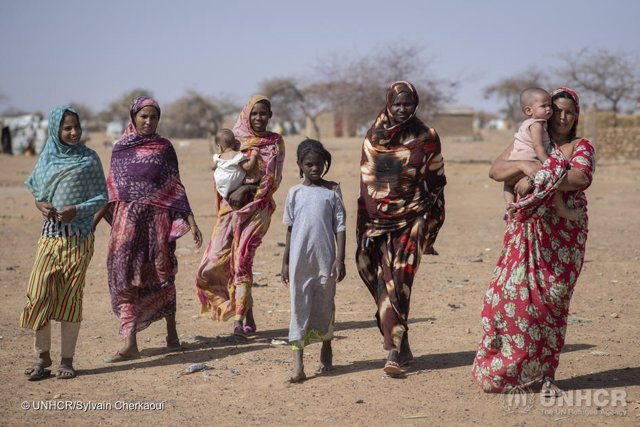 DDHH.- Casi una de cada cien personas en el mundo ha dejado su hogar por conflic
