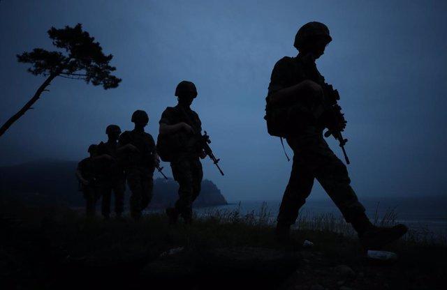 Corea.- Corea del Norte envía militares a puestos fronterizos que hasta ahora es