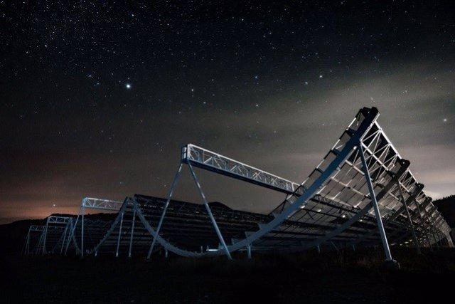 Captan un ritmo regular de ondas de radio de origen cósmico desconocido