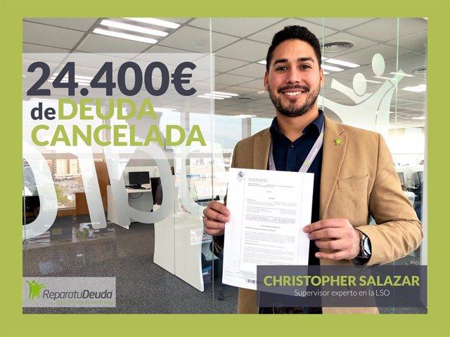 COMUNICADO: Repara tu Deuda Abogados cancela una deuda de 24.400 € en Granollers