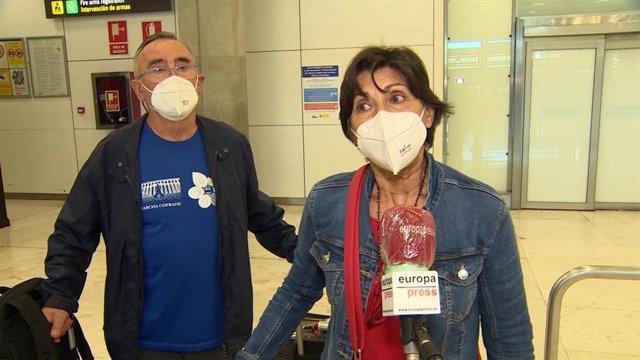 """Los últimos españoles retenidos en Guatemala regresan a Madrid tras """"tres meses"""" confinados allí por la pandemia del coronavirus."""