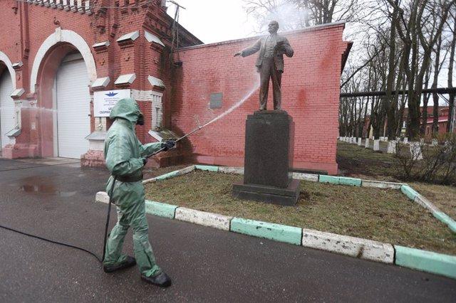 Coronavirus.- Rusia supera los 561.000 contagiados con coronavirus tras sumar 7.