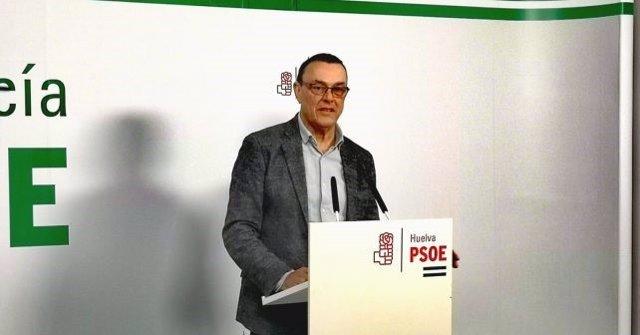 """Huelva.- Caraballo: Moreno """"desprecia"""" a ayuntamientos y diputaciones """"al negar"""" que gestionen el Ingreso Mínimo Vital"""