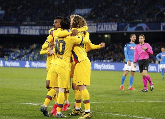 """Fútbol.- Setién: """"Si no jugamos en el Camp Nou le darían ventaja al Nápoles"""""""