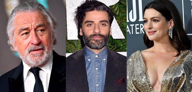 Robert De Niro, Oscar Isaac y Anne Hathaway