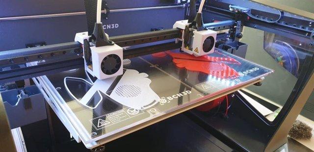 Impresión 3D de mascarillas