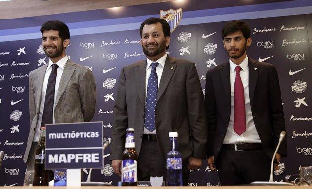 Fútbol.- Confirman la fianza de 5,4 millones de euros a la familia Al-Thani por