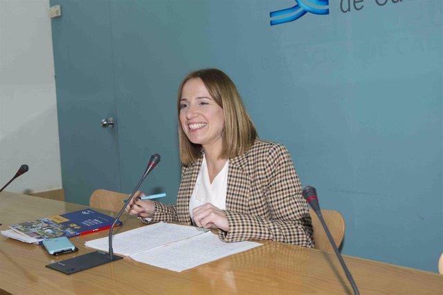 Ana Carrera, diputada de Empleo de la Diputación de Cádiz
